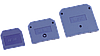 Заглушка для ЗНИ-10мм2 (JXB70A)  синий IEK (YZN10D-ZGL-010-K07)