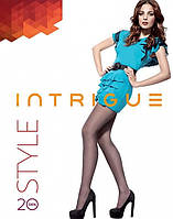 Колготы 40ден Intrigu Style цвет темно коричневый размер 6