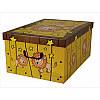 Коробка Animals Savana Leone Midi 37*30*16 см, Miss Space 7431