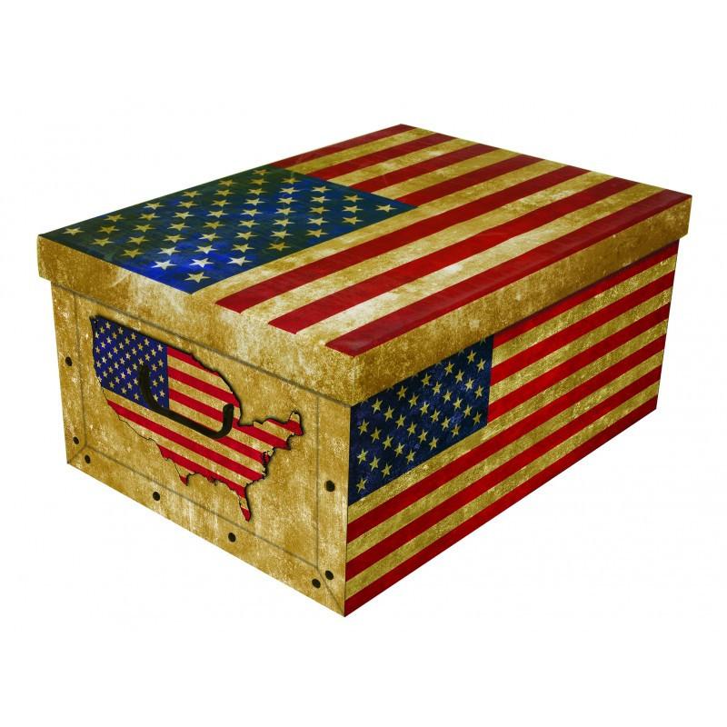 Коробка Big Flags America Maxi 51*37*24 см, Miss Space 7062