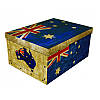 Коробка Big Flags Australia Maxi 51*37*24 см, Miss Space 7064