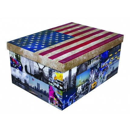Коробка Flags America Maxi 51*37*24 см, Miss Space 7047, фото 2