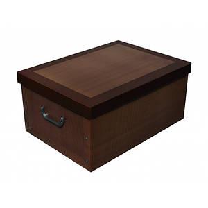 Коробка Classic Brown Maxi 51*37*24 см, Miss Space 7056
