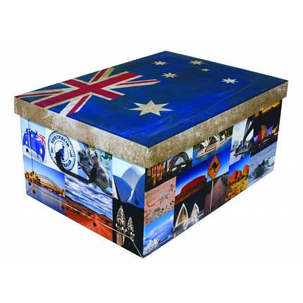 Коробка Flags Australia Maxi 51*37*24 см, Miss Space 7061, фото 2