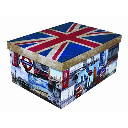 Коробка Flags England Maxi 51*37*24 см, Miss Space 7060, фото 2