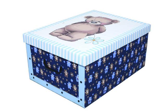 Коробка Orsacchiotto Azzurro Maxi 51*37*24 см, Miss Space 7019, фото 2