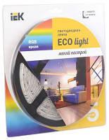 Лента LED 5м  блистер LSR-3528RGB54-4.8-IP65-12V IEK-eco (LSR1-3-054-65-1-05)