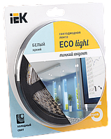 Лента LED 5м  блистер LSR-3528W120-9.6-IP65-12V IEK-eco (LSR1-2-120-65-1-05)