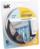Лента LED 5м  блистер LSR-3528W60-4.8-IP20-12V IEK-eco (LSR1-2-060-20-1-05)