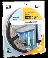 Лента LED 5м  блистер LSR-3528W60-4.8-IP65-12V IEK-eco (LSR1-2-060-65-1-05)