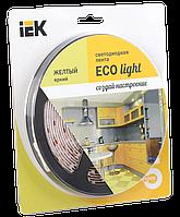 Лента LED 5м  блистер LSR-3528Y60-4.8-IP20-12V IEK-eco (LSR1-4-060-20-1-05)