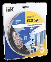 Лента LED 5м блистер LSR-3528B60-4.8-IP20-12V синий цвет IEK-eco (LSR1-7-060-20-1-05)