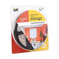 Лента LED 5м блистер LSR-3528R60-4.8-IP20-12V красный цвет IEK-eco (LSR1-6-060-20-1-05)
