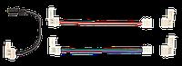 Комплект коннекторов для 8 мм MONO и RGB СД ленты 9шт в блистере IEK-eco (LSCON-8-SET9)