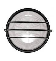 Светильник НПП1106 черный/круг сетка 100Вт IP54, IEK (LNPP0-1106-1-100-K02)