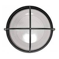 Светильник НПП1108 черный/круг решетка крупная 100Вт IP54, IEK (LNPP0-1108-1-100-K02)