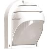 Светильник НПП2501 белый/ресничка 60Вт IP54, IEK (LNPP0-2501-1-060-K01)