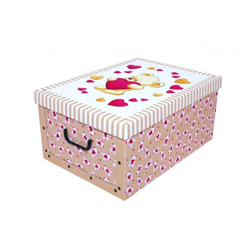 Коробка Orsacchiotto Crema Mini 33*25*16 см, Miss Space 7521