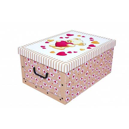 Коробка Orsacchiotto Crema Mini 33*25*16 см, Miss Space 7521, фото 2