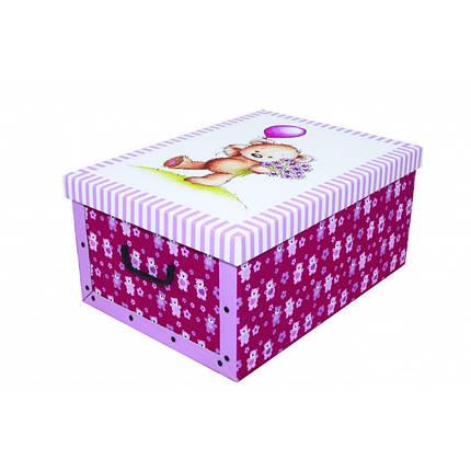 Коробка Orsacchiotto Rosa Midi 37*30*16 см, Miss Space 7420, фото 2
