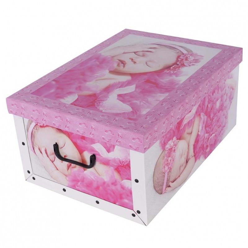 Коробок Babies Sleep pink Maxi 51*37*24 см, Miss Space 7041