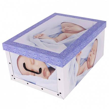 Коробок Babies Sleep blue Maxi 51*37*24 см, Miss Space 7048, фото 2