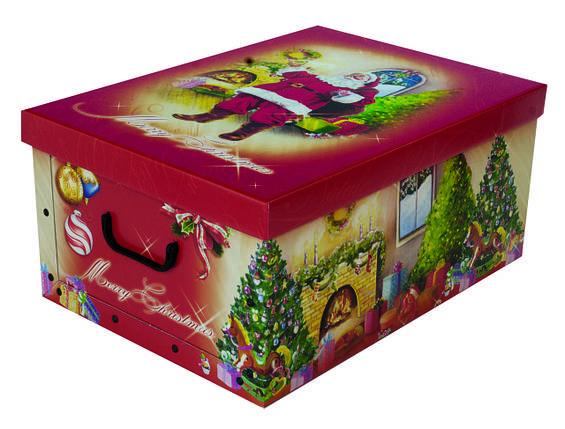 Коробок Christmas Santa Claus Maxi 51*37*24 см, Miss Space 7043, фото 2