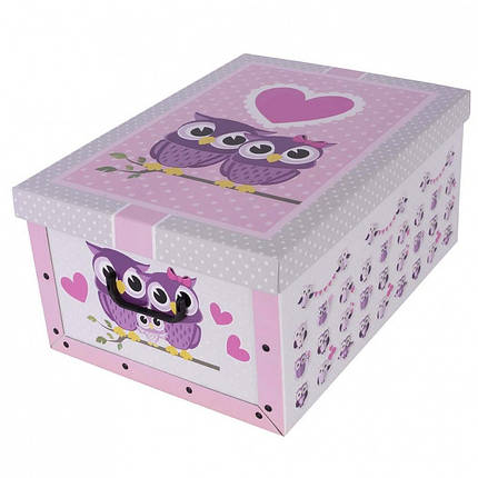 Коробок Family Owls Maxi 51*37*24 см, Miss Space 7067, фото 2