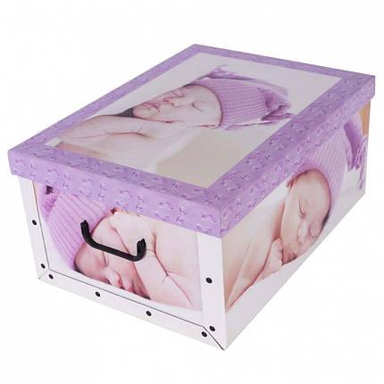 Коробок Babies Sleep purple Maxi 51*37*24 см, Miss Space 7049, фото 2