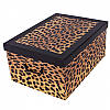 Коробок Fashion Leopardo Maxi 51*37*24 см, Miss Space 7026
