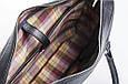Кожаная мужская деловая сумка Blamont 022 черная, фото 5