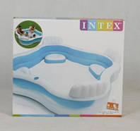 Семейный надувной бассейн в дом Intex 2.29Х2.29 м