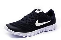Кроссовки Найк Free Run 5.0, мужские, черные, р. 41 42 43 44 45