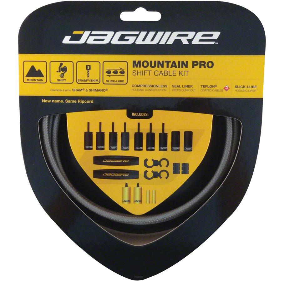 Набор рубашек и тросов переключения Jagwire Mountain Pro Titanium