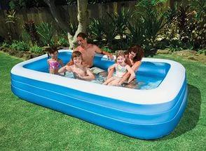 Семейный надувной бассейн в дом Intex 305*183*56 см