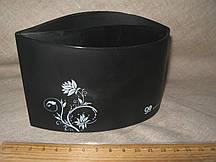 Подставка, бокс под канцелярские принадлежности, ʺBeifaʺ №264235 черный 14 х 7,5 х 7,5 см