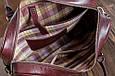 Кожаная мужская деловая сумка Blamont 022 коричневая, фото 5