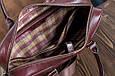 Кожаная мужская деловая сумка Blamont 022 коричневая, фото 6