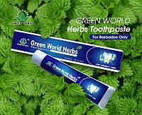 Зубная паста  с экстрактами тибетских и китайских трав +зубная щетка от Компании «GREEN WORLD»