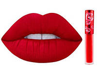 Матовая помада для губ LIME CRIME Velvetines | Red Velvet