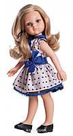 Кукла Paola Reina Карла в платье с синим бантом подружки-модницы 32 см в брендовом пакете