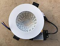 Встраиваемый светодиодный светильник RIGHT HAUSEN Plate 6W 4000K белый Код.58853