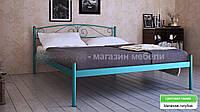 Кровать металлическая Верона - 1 / Verona - 1 полуторная 120 (Метакам) 1260х2080х720 мм