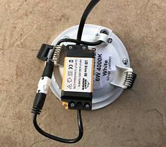 Светодиодный декоративный светильник RIGHT HAUSEN Plate 6W 4000K белый Код.58853, фото 3