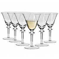 Набор бокалов для белого вина Krosno Poema 160 мл 6 шт F070305016008030