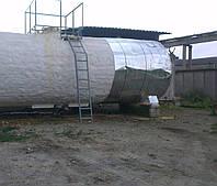 Теплоизоляция емкости цистерны