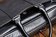 Кожаная мужская деловая сумка Blamont 023 коричневая, фото 7