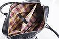 Кожаная мужская деловая сумка Blamont 023 черная, фото 5