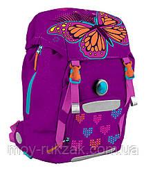 """Рюкзак ортопедический каркасный Butterfly """"1 Вересня YES"""" H-22, 553177"""