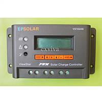 Программируемый фотоэлектрический контроллер заряда ViewStar VS1024N (10А, 12/24Vauto, PWM, LCD)